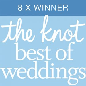 The Knot Best of Weddings - 8x Winner