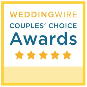 Wedding Wire Couples Choice Award Winner